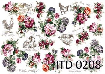 Decoupage paper ITD D0208M