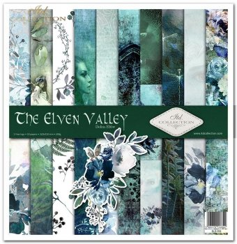 Scrapbooking papers SLS-005 ''The Elven Valley''