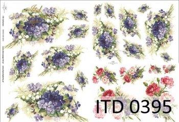 Decoupage paper ITD D0395M