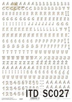 scrapbooking paper SC0027