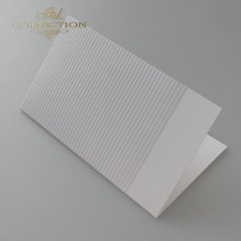 Card Base BDK-026 * light gray, stripes