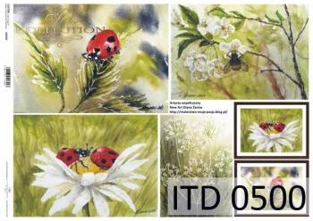 Decoupage paper ITD D0500