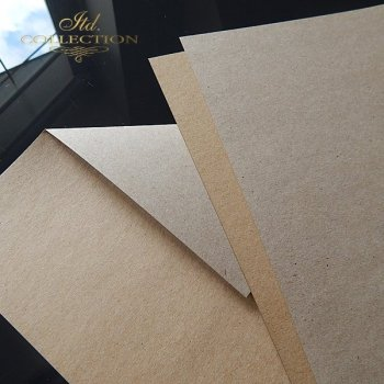 Paper for Scrapbooking, color: brown-gray - ecologically