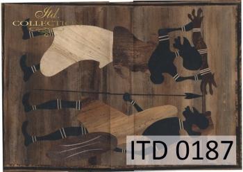 Decoupage paper ITD D0187M