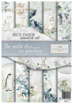 Creative Set RS018 The world of ice porcelain