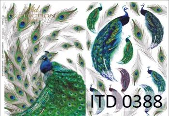 Decoupage paper ITD D0388M