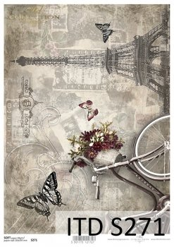 Decoupage paper Soft ITD S0271