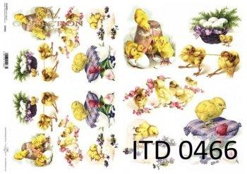 Decoupage paper ITD D0466M