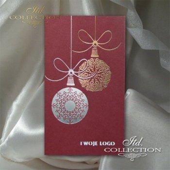 Christmas cards for business / Christmas card K616