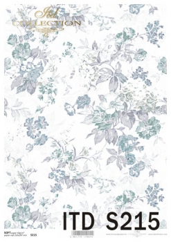 Decoupage paper Soft ITD S0215