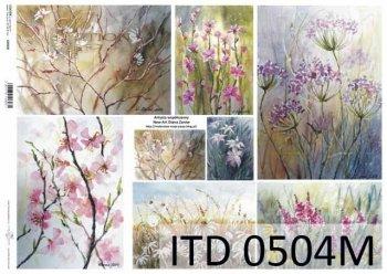 Decoupage paper ITD D0504M
