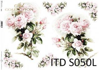Decoupage paper Soft ITD S0050L
