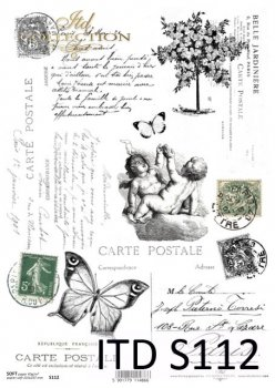 Decoupage paper Soft ITD S0112