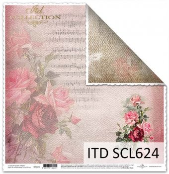 scrapbooking paper SCL624