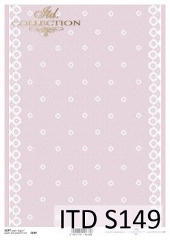 Decoupage paper Soft ITD S0149