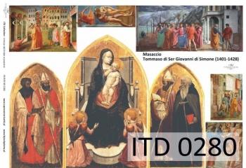 Decoupage paper ITD D0280M