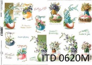Decoupage paper ITD D0620M