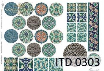 Decoupage paper ITD D0303