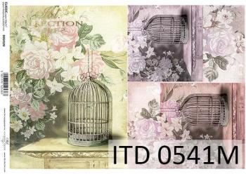 Decoupage paper ITD D0541M