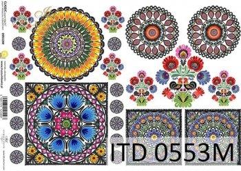 Decoupage paper ITD D0553M