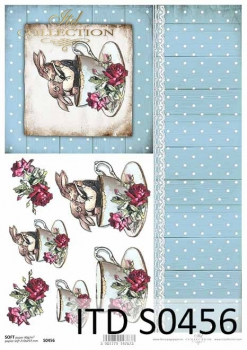 Decoupage paper Soft ITD S0456