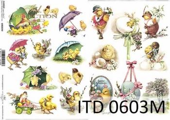 Decoupage paper ITD D0603M