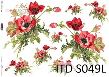 Decoupage paper Soft ITD S0049L