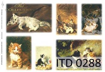 Decoupage Paper ITD D0288