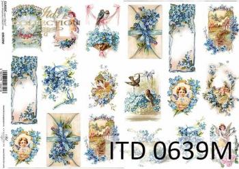 Decoupage paper ITD D0639M