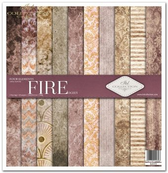 Scrapbooking papers SLS-014 ''Four elements-Fire''