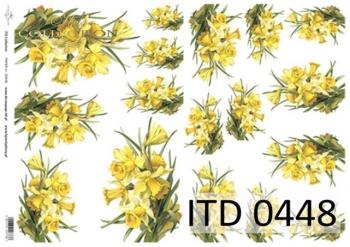 Decoupage paper ITD D0448M