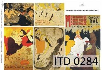 Decoupage Paper ITD D0284
