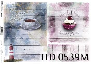 Decoupage paper ITD D0539M