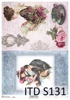 Decoupage paper Soft ITD S0131