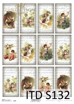 Decoupage paper Soft ITD S0132