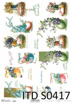 Decoupage paper Soft ITD S0417