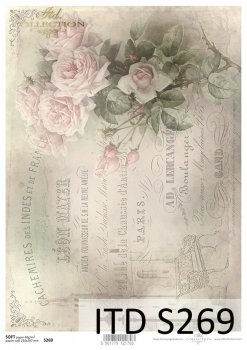 Decoupage paper Soft ITD S0269
