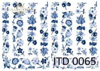 Decoupage paper ITD D0065M