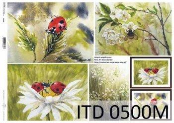 Decoupage paper ITD D0500M