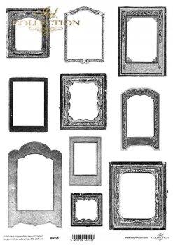 Translucent scrapbooking paper P0054