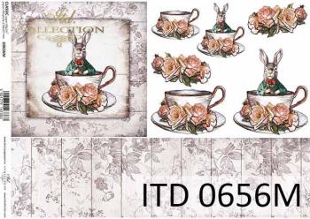 Decoupage paper ITD D0656M