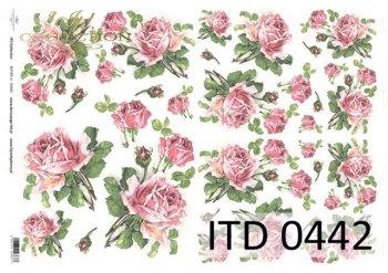 Decoupage paper ITD D0442