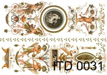 Decoupage Paper ITD D0031