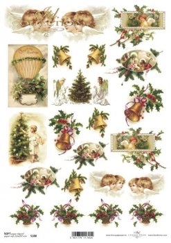 Decoupage paper Soft ITD S0188