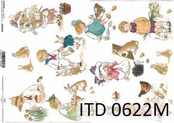 Decoupage paper ITD D0622M