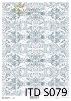 Decoupage paper Soft ITD S0079