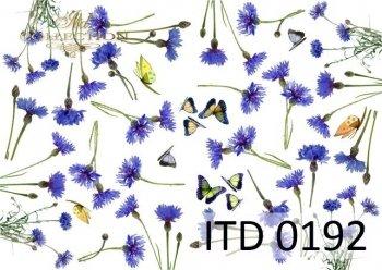 Decoupage paper ITD D0192