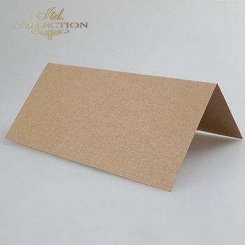 Card Base BDK-005 * dark beige