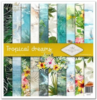 Scrapbooking papers SLS-010 ''Tropical dreams''