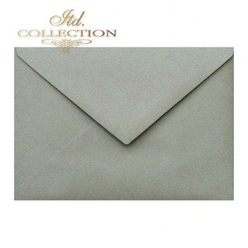 .Envelope KP04.12 'C6' 114x162 grey